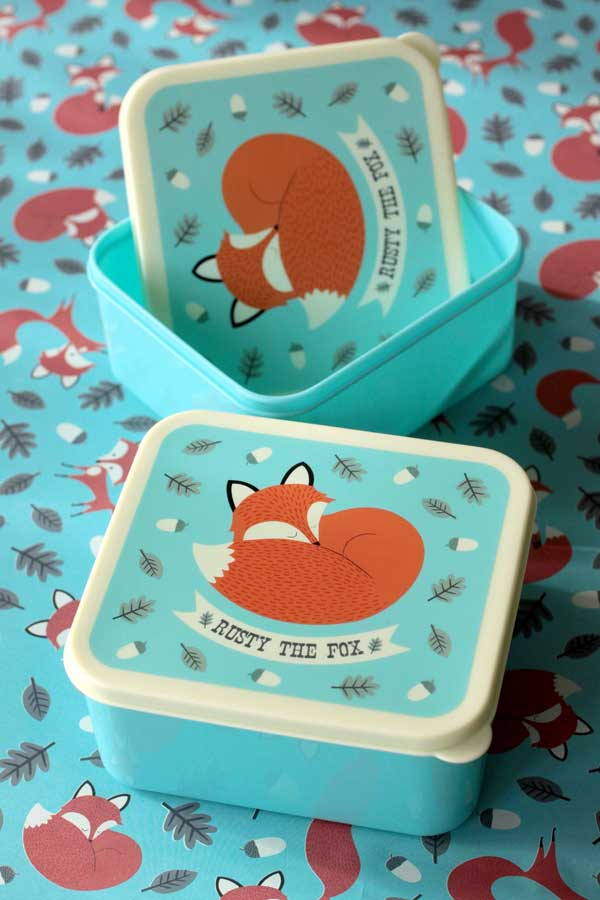 REX International Lunchbox - Rusty the fox